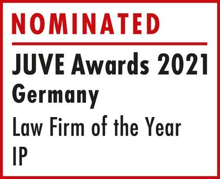 Nominated: JUVE Awards 2021 Germany